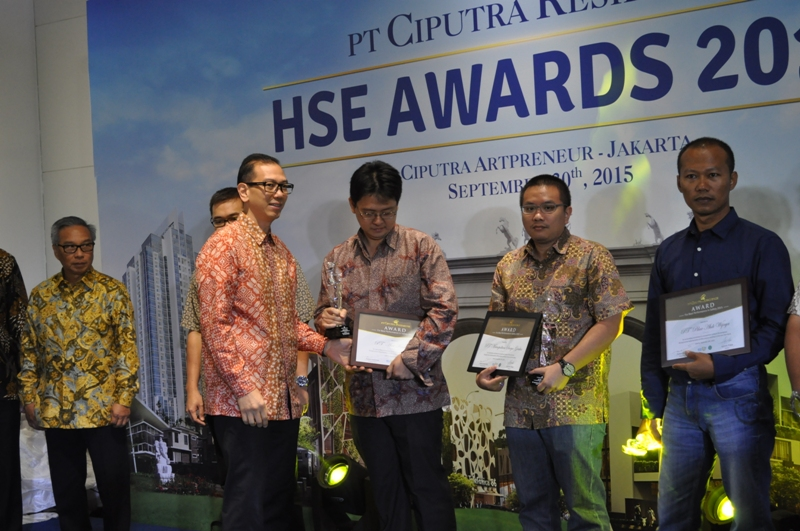 PT Ciputra Residence Akan Kembali Menggelar HSE Awards 2016