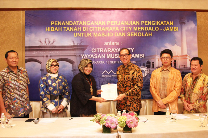 Penandatanganan Perjanjian Kerja Sama Layanan Multi Media Antara CitraRaya City – BIZNET