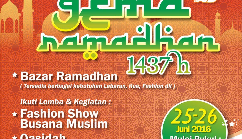 Gema Ramadhan 1437H bersama CitraRaya City