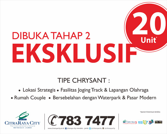 Tipe Chrysant, Ekslusif Hanya 20 Unit