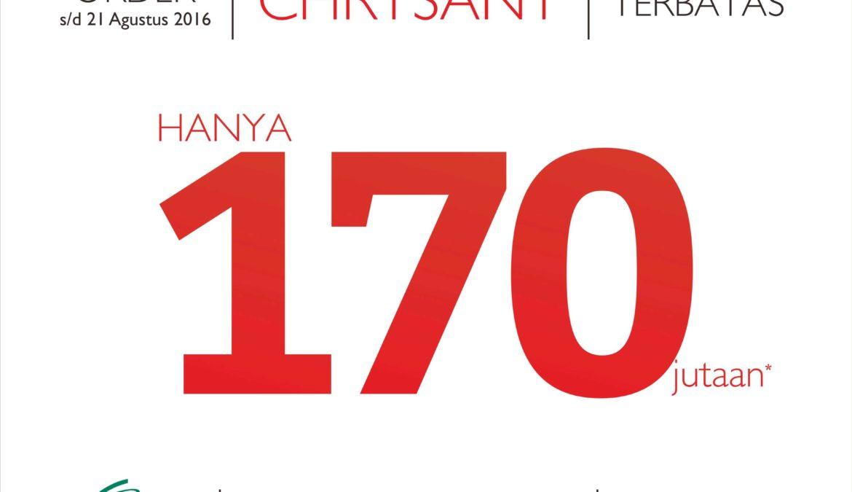 Pre Order Tipe Terbaru CHRYSANT
