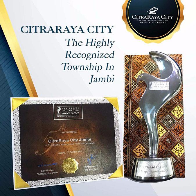 CitraRaya City Mendapatkan Award Pada Properti Indonesia Award 2017