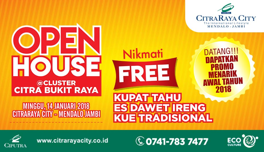 Open House Citra Bukit Raya