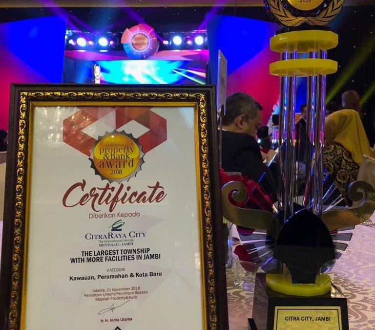CitraRaya City Kembali Mendapatkan Penghargaan pada IPBA 2018