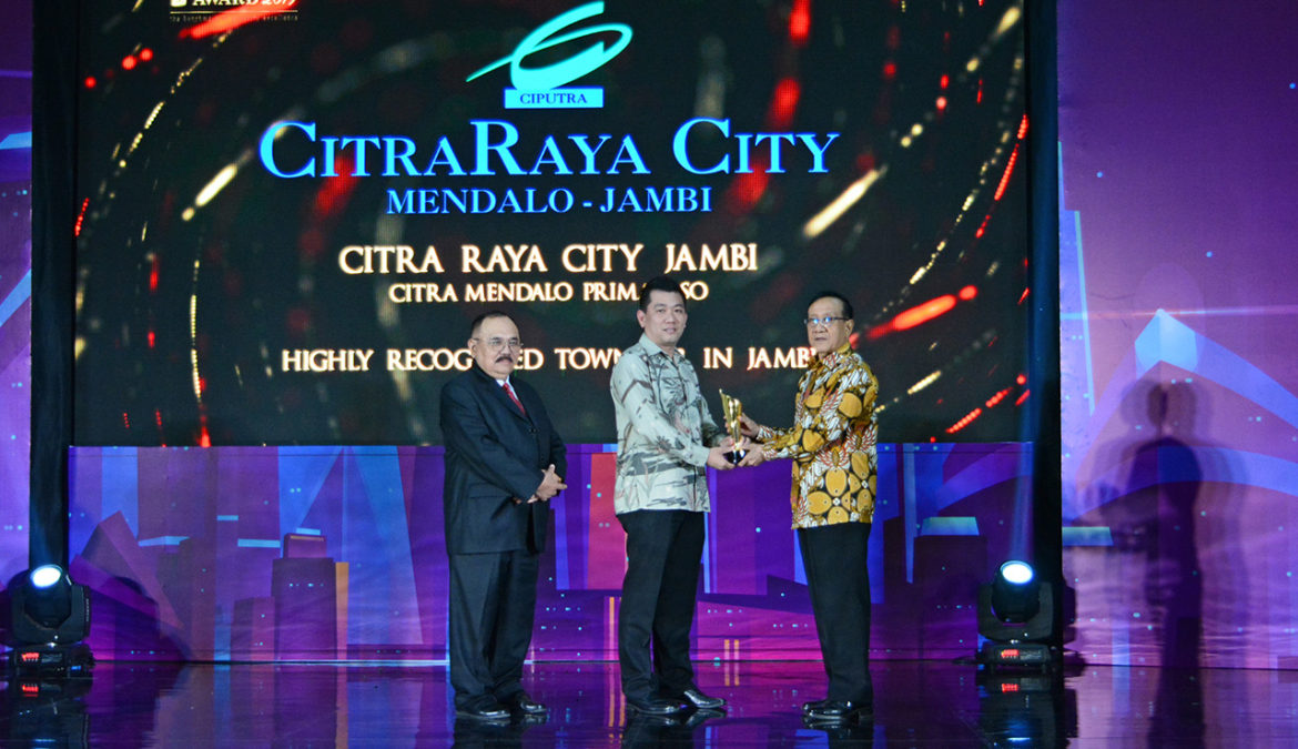 CitraRaya City Raih PIA 2019 Sebagai Highly Recognised Township in Jambi
