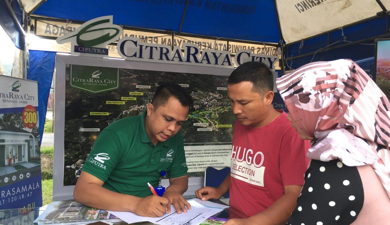 CitraRaya City Hadir di Kerinci Expo 3-7 November 2019