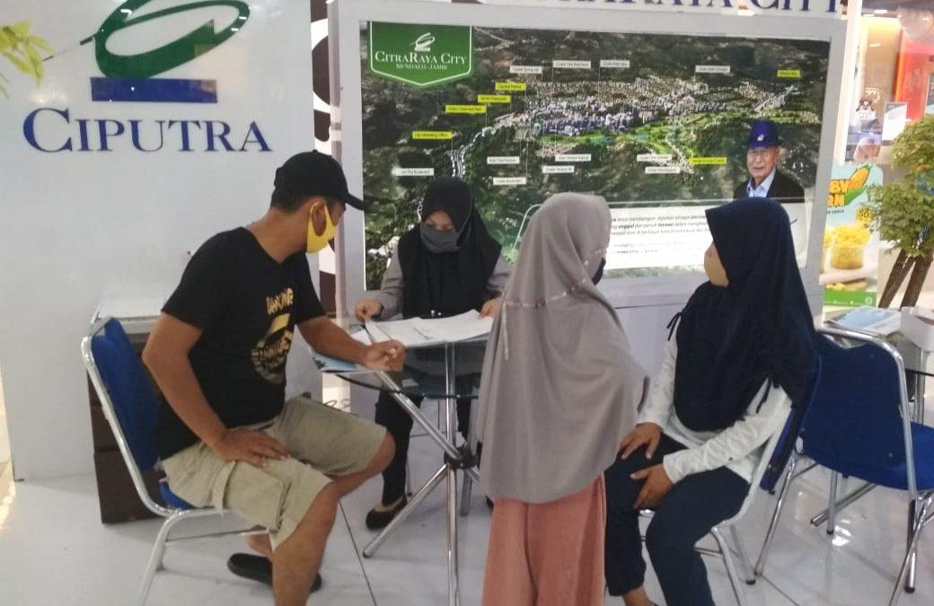 Booth CitraRaya City hadir kembali di Mall WTC BATANG HARI